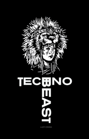 EP01L Men's Long Sleeve T-Shirt TECHNO BEAST TEE