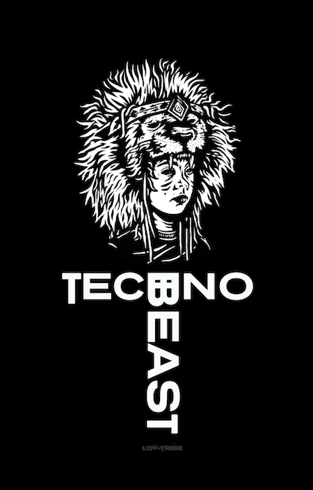 Long Men's T-Shirt *TECHNO BEAST TEE