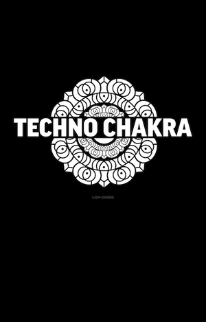 Long Men's T-Shirt *TECHNO CHAKRA