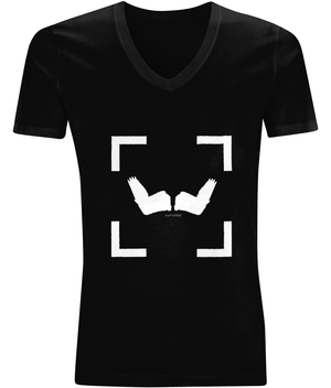 EP03V V-Neck Men's T-Shirt LOV-TRIBE WINGS