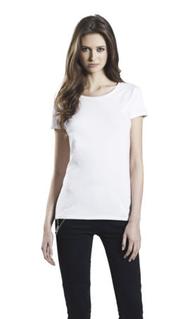 EP06 CLASSIC STRETCH WOMAN T-SHIRT TO SHOW YOU THE FIT - 96% ORGANIC COTTON/ 4% ELASTANE