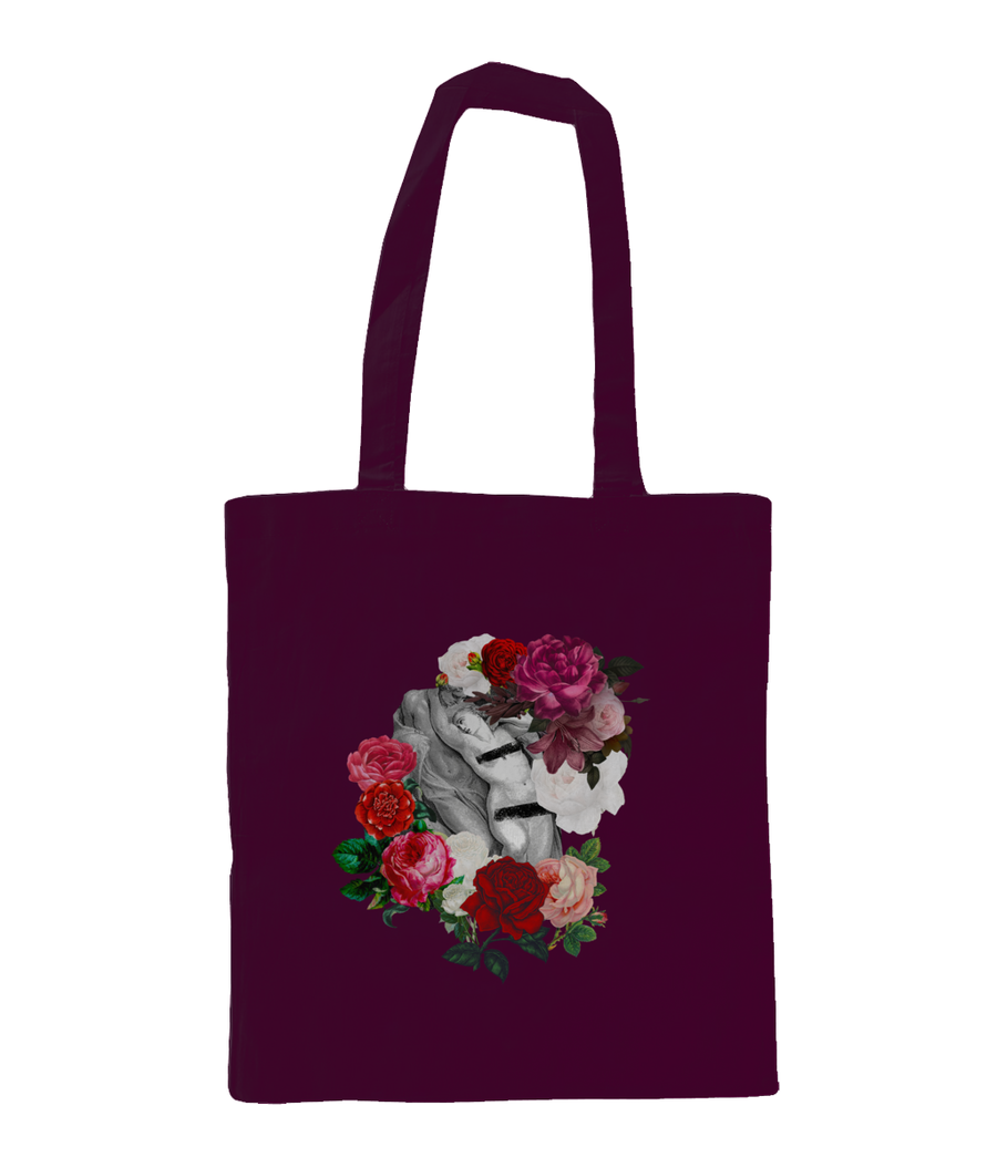 27 X27 cm Shoulder Tote Bag LOVE IS BEAUTIFUL