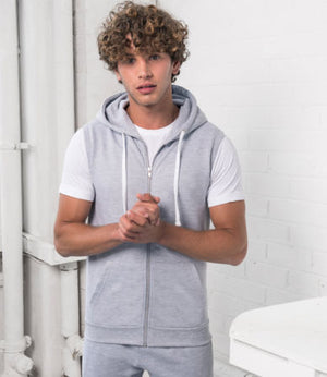 SLEEVELESS HOODIE picture example