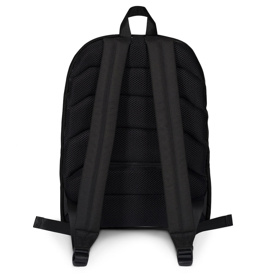 "All-Over Print Backpack ""DK-LISTEN TO YOUR HEART"""