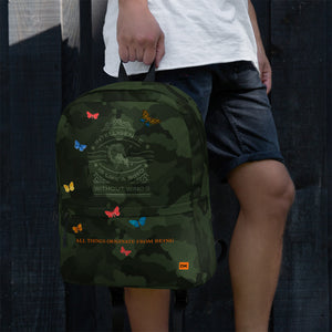 "All-Over Print Backpack ""DK-All things originate from being"""