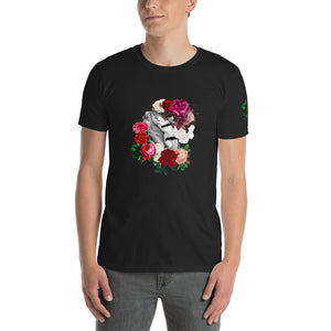 "Unisex Softstyle T-Shirt ""DK Love & roses"""