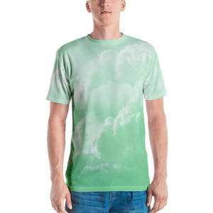 "Men's Crew Neck T-Shirt ""DK Green"""