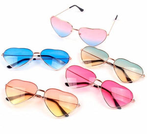 Summer Pool/Party Heart Shaped Sunglasses
