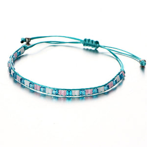 Bohemian Beads Weave Rope Friendship Bracelets