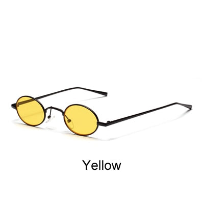 Retro Oval Sunglasses Women Vintage