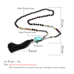 BOHO Ethnic Necklace Women