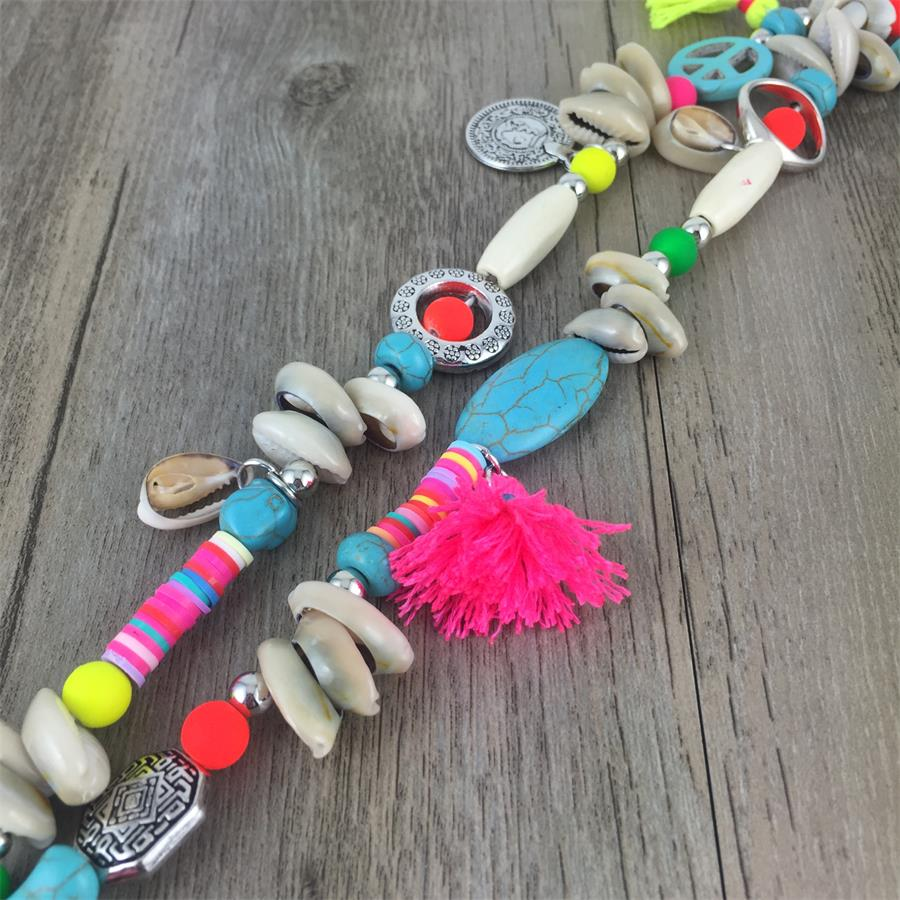 Bohemian Handmade Long Necklace Boho