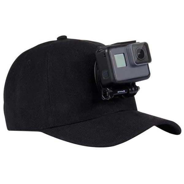 Casquette GoPro - Support - Fixation Camera D'action - Taille Reglable