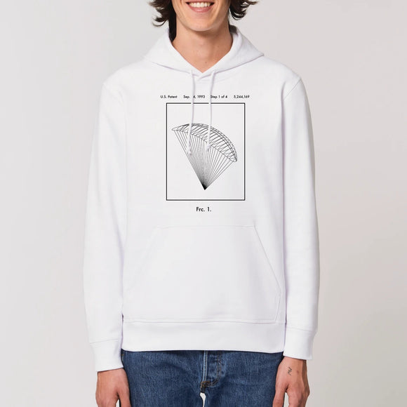 Blanc De Vinci Invention Parapente Volant - Sweat - Coton