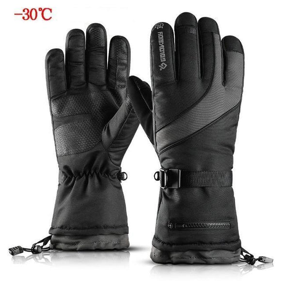 gants sport ultra chaud waterproof tactile nylon polaire