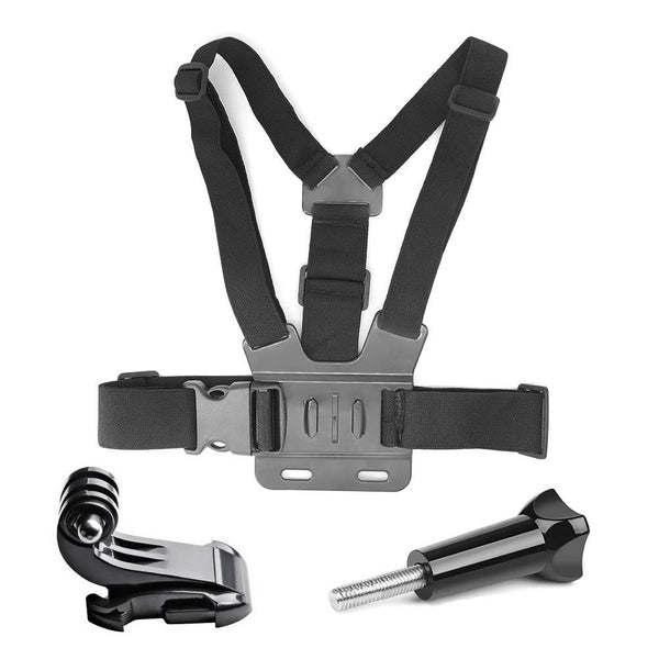 Harnais GoPro - Ajustable - Torse - Fixation Et Support - ABS