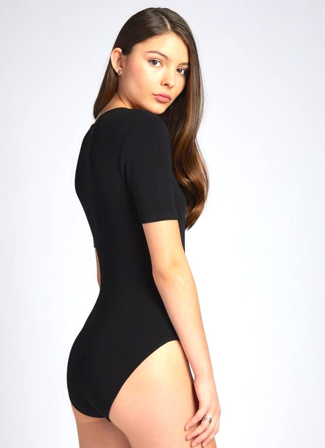 Wrap Bamboo Body Suit