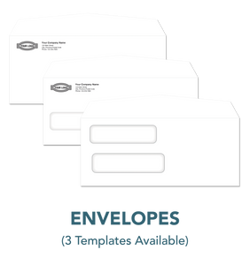 no. 10 envelope template plain window twindow