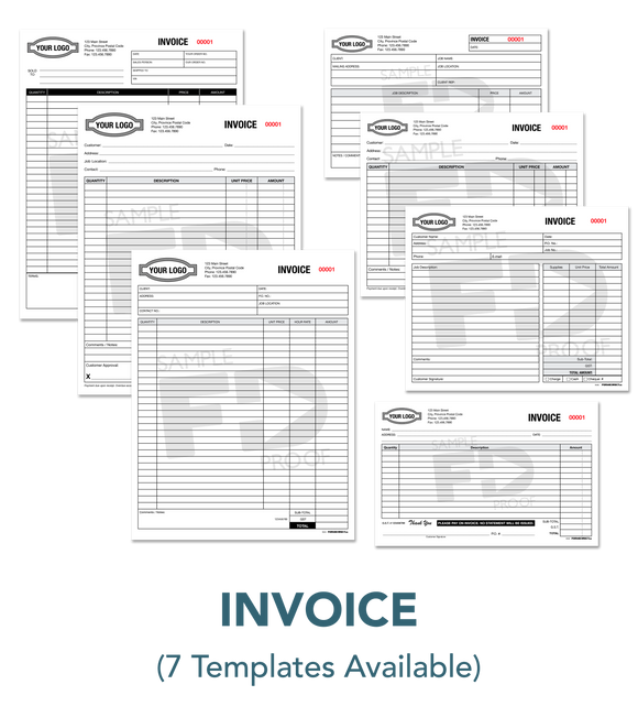 Invoice Bill Sales Order Form Template