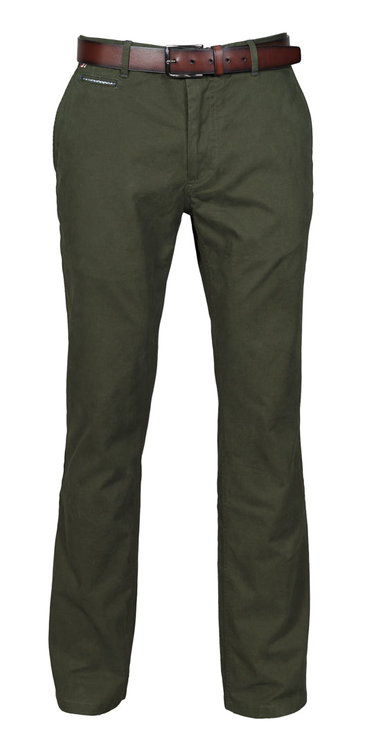 Virgil Forest Green Chino