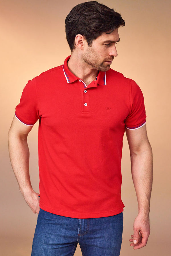 Dingle Red Polo