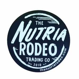 Logo Sticker - Event - The Nutria Rodeo Trading Co.