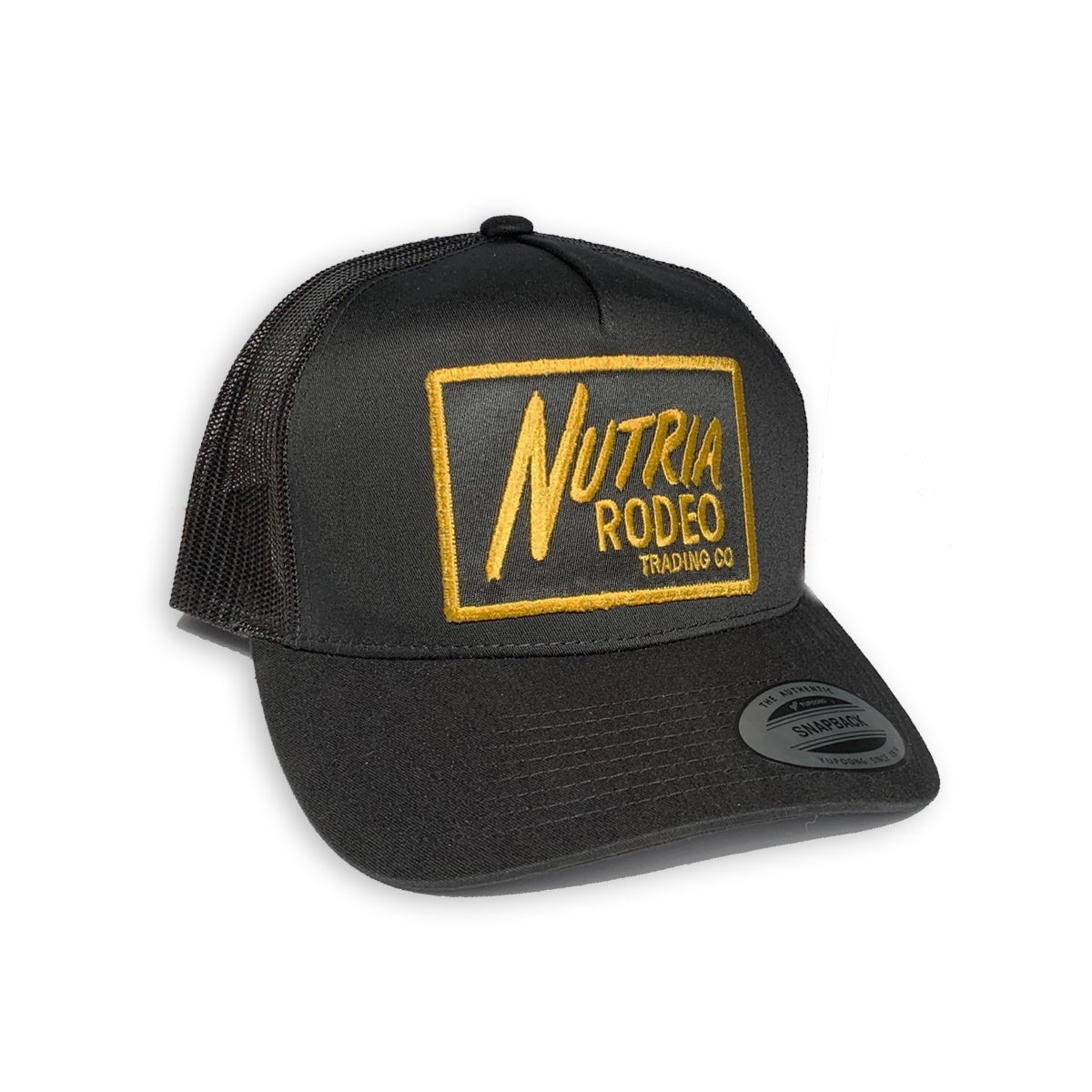 Nutria Rodeo Trucker Hat - The Nutria Rodeo Trading Co.