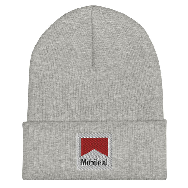 Mobile al Cuffed Beanie - The Nutria Rodeo Trading Co.