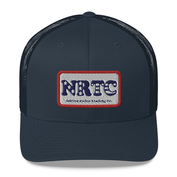 NRTC Stars and Bars Trucker Cap - The Nutria Rodeo Trading Co.