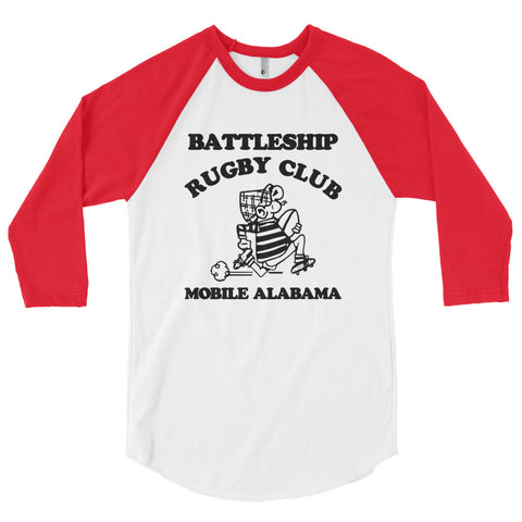 1980 BRFC Throwback 3/4 sleeve raglan - The Nutria Rodeo Trading Co.