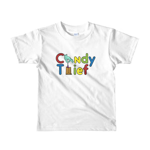 Candy Thief kids t-shirt - The Nutria Rodeo Trading Co.
