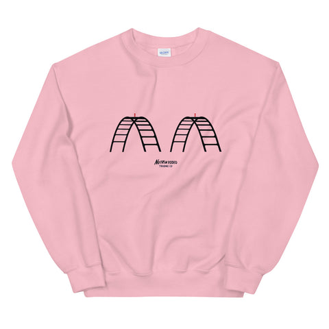 The Dolly Pink Sweatshirt - The Nutria Rodeo Trading Co.