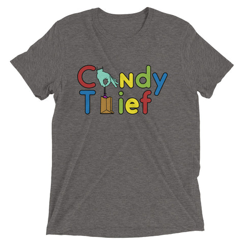 Candy Thief Tri-blend - The Nutria Rodeo Trading Co.