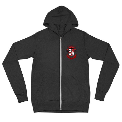Ship Crest zip hoodie - The Nutria Rodeo Trading Co.