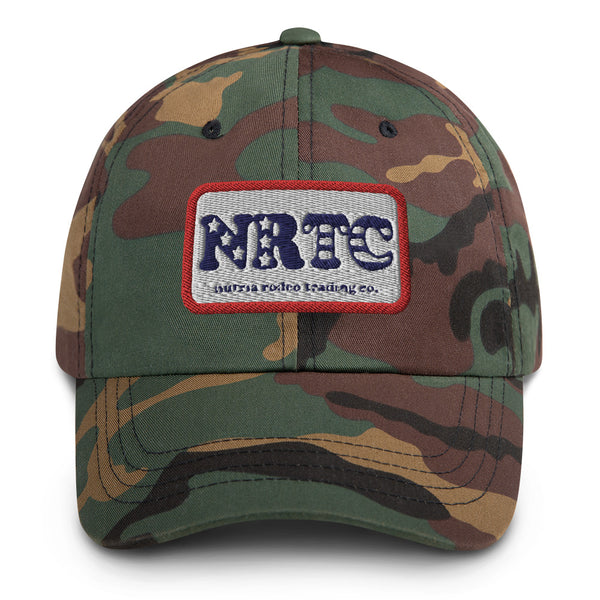 NRTC Stars and Bars Dad Hat - The Nutria Rodeo Trading Co.