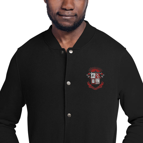 Ship Crest Bomber Jacket - The Nutria Rodeo Trading Co.
