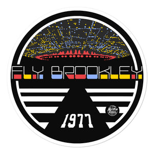 Fly Brookley Sticker - The Nutria Rodeo Trading Co.