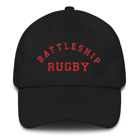 Battleship Rugby Dad Hat - The Nutria Rodeo Trading Co.
