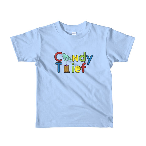 Youth Candy Thief t-shirt - The Nutria Rodeo Trading Co.
