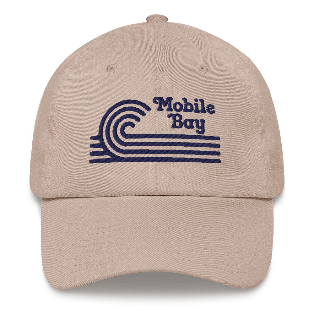 Mobile Bay Dad hat - The Nutria Rodeo Trading Co.