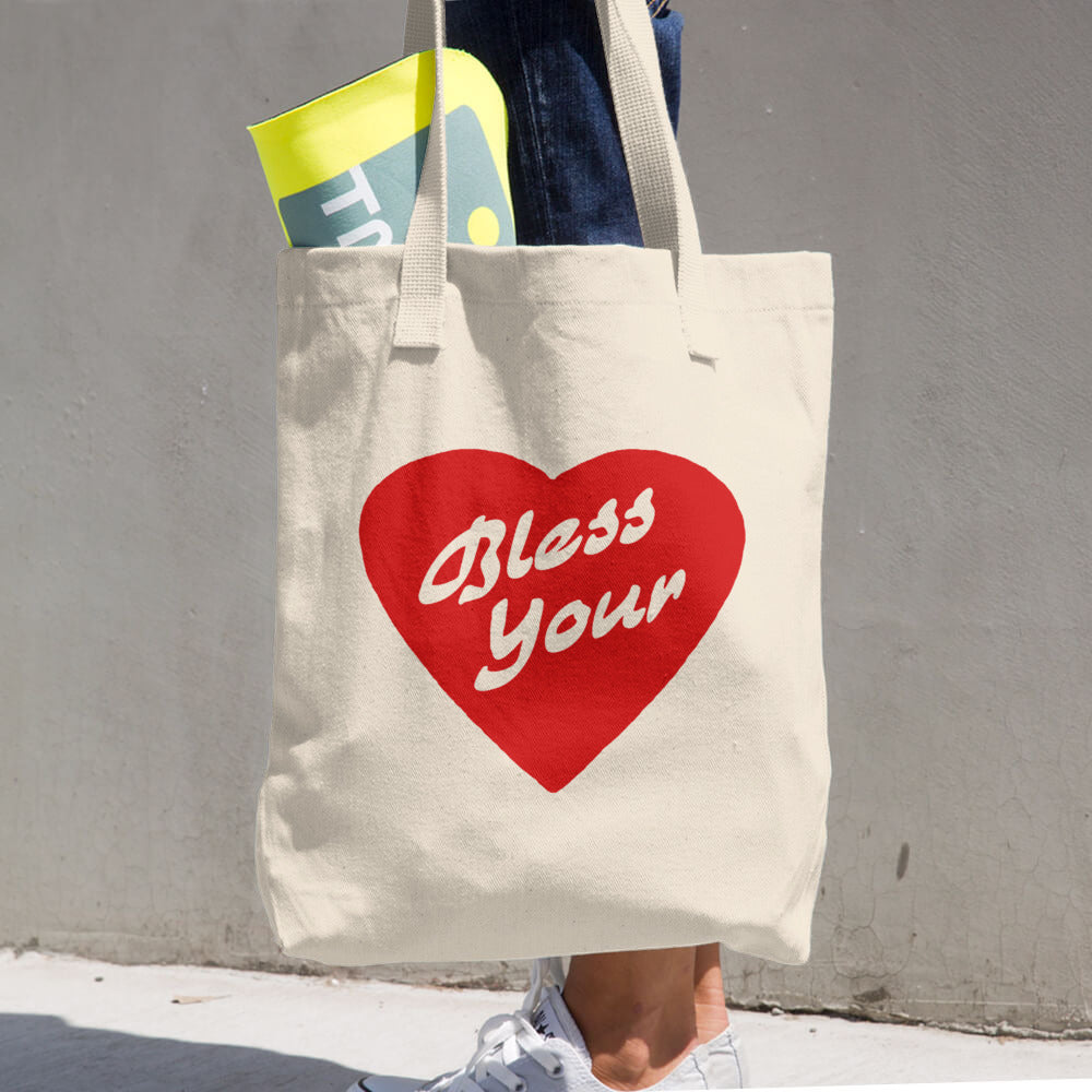 Bless Your Heart Tote - The Nutria Rodeo Trading Co.