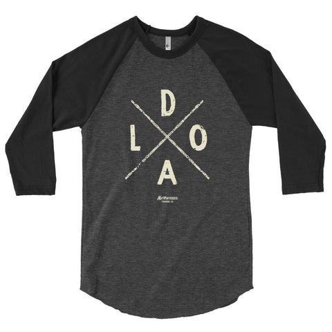 LODA Raglan shirt - The Nutria Rodeo Trading Co.