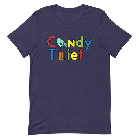 Candy Thief Unisex T-Shirt - The Nutria Rodeo Trading Co.