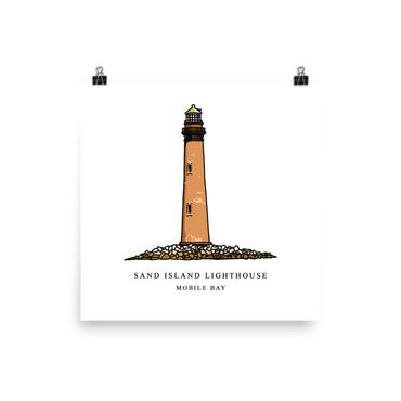 Sand Island Lighthouse - Event - The Nutria Rodeo Trading Co.