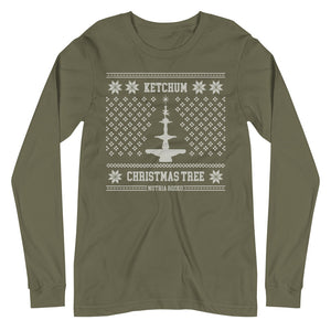 Ketchum Christmas Tree Long Sleeve Tee - The Nutria Rodeo Trading Co.