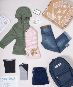 Modern Casual Box for Toddler Girls