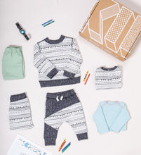 Modern Casual Baby Box