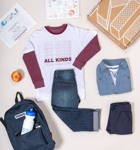 Modern Casual Box for Toddler Boys