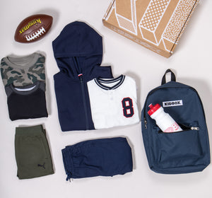 Sporty Athletic Box for Boys