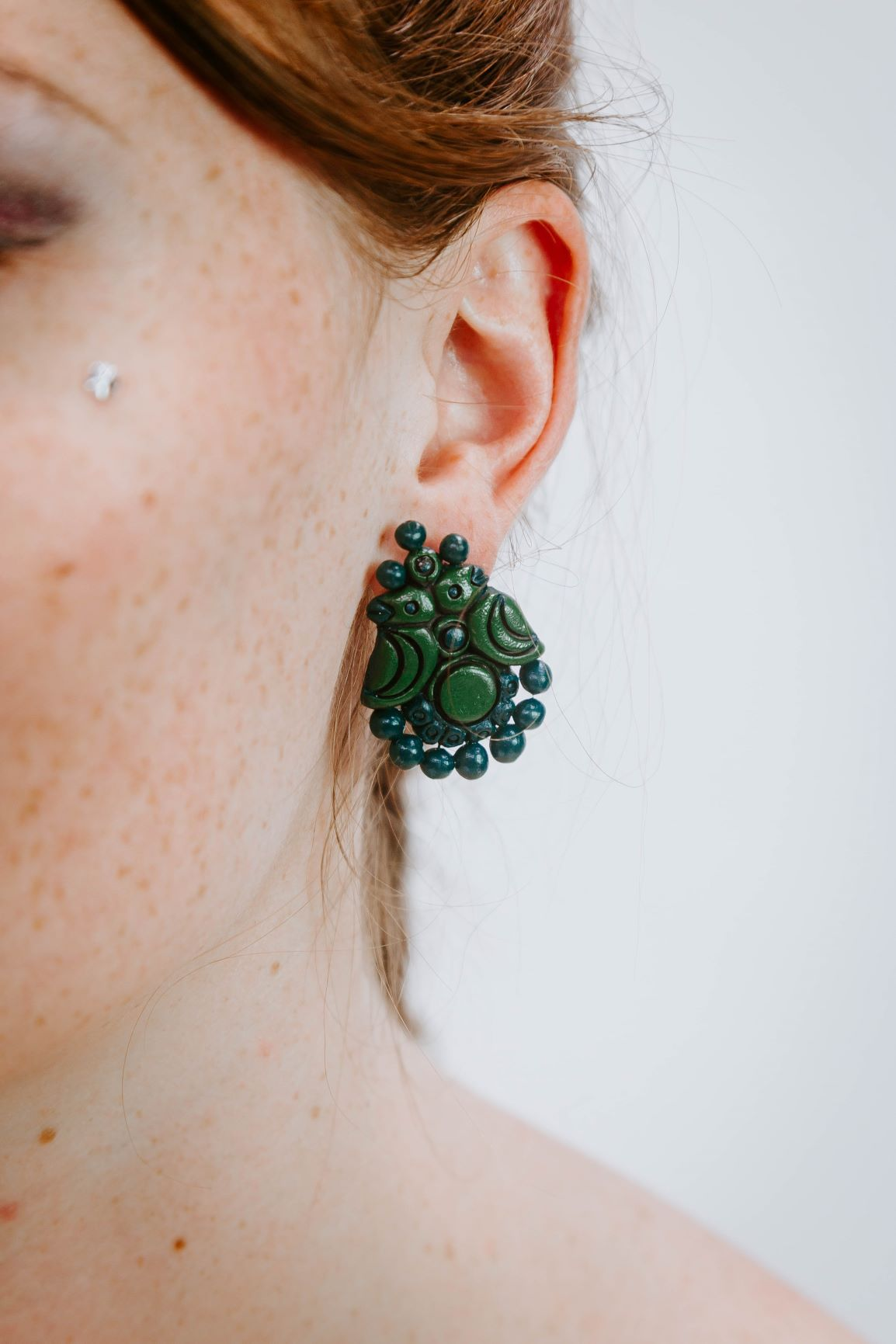 Birdy Green - Boucles d'oreilles - Azaadi, la mode responsable accessible